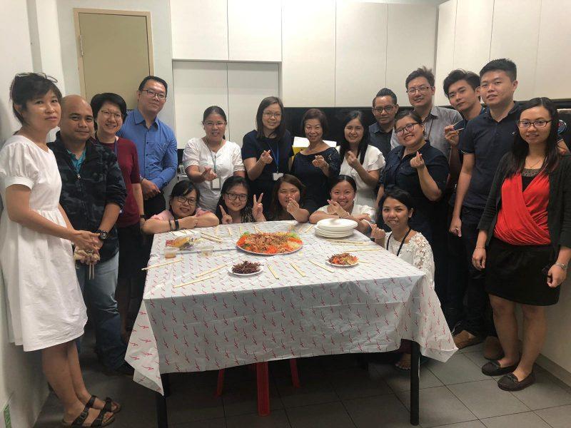CNY Lou Hei 2019
