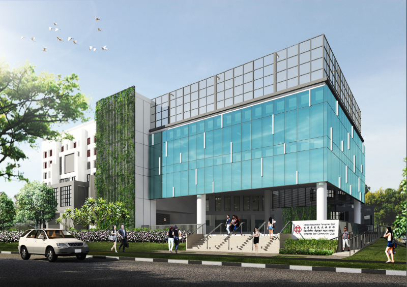 Tampines East Community Centre (Ongoing)