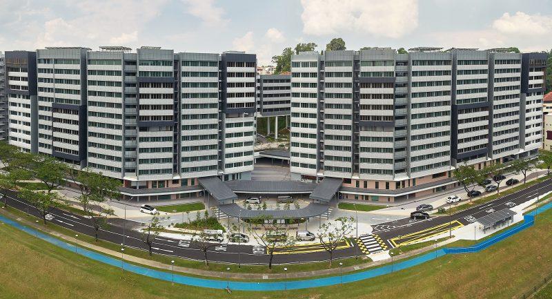 Student Hostel at Nanyang Technological University of Singapore (PPVC)