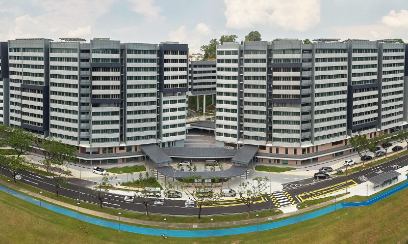 Student Hostel at Nanyang Technological University of Singapore (PPVC)